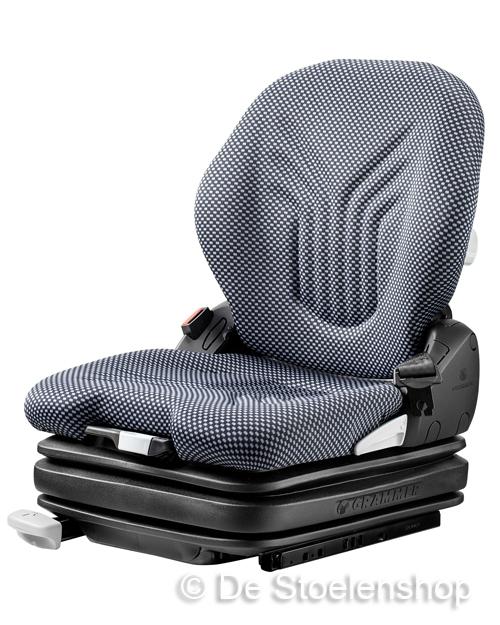 Grammer Primo L luchtgeveerde stoel 12 Volt stof
