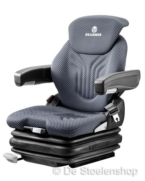 Grammer Primo XL luchtgeveerde stoel 12 Volt stof