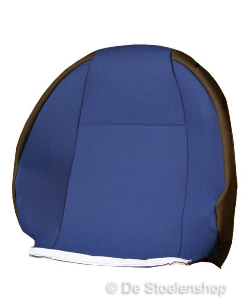 Rughoes / bekleding tbv KAB T5 stof Hitachi Blauw