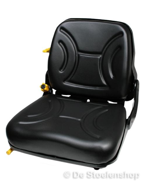 Mech. geveerde heftruckstoel STPlus FS12 pvc met schakelaar