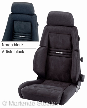 Recaro Expert M autostoel & bestelautostoel stof zwart