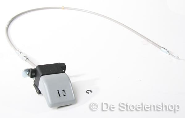 Schokdemperkabel compleet met knop t.b.v. ISRI 6820