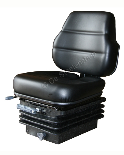 Cobo mechanisch geveerde tractorstoel SC70/M200 PVC zwart