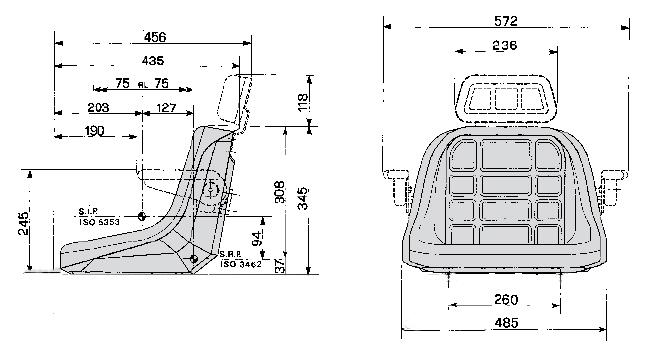 Cobo kuip GT50/P2 montage onderzijde kuip