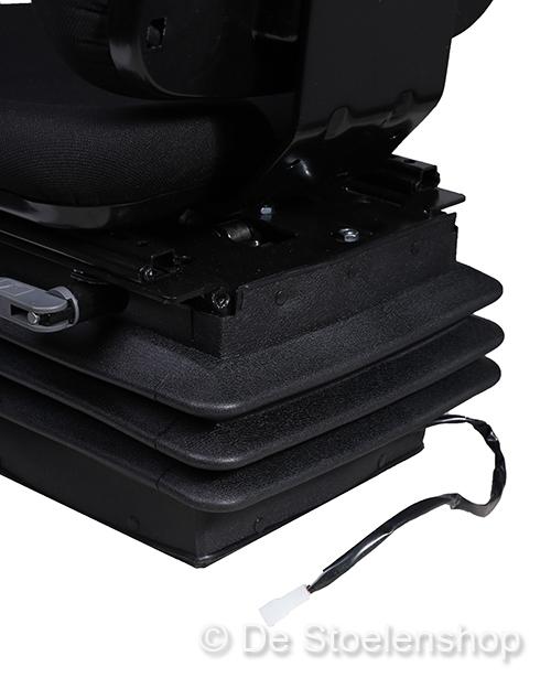 Cobo luchtgeveerde tractorstoel SC74/M97 stof zwart