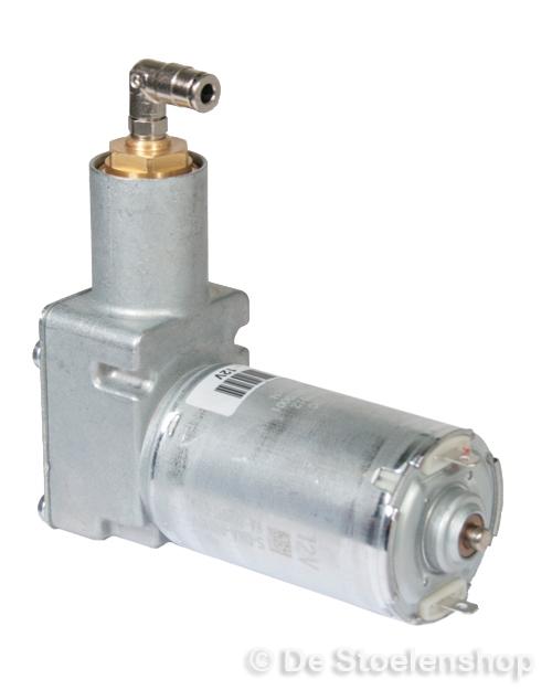 Compressor 12 Volt met haakse insteektule 4 mm.origineel KAB
