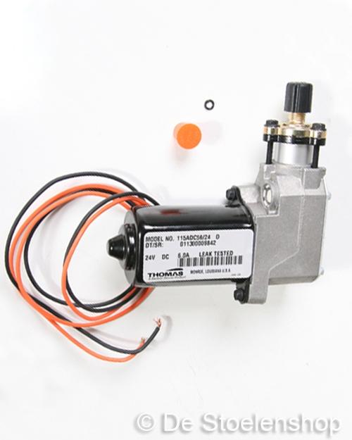 Compressor Thomas 115 / 24 Volt o.a. tbv KAB stoelen