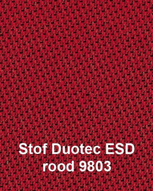 ESD werkplaatsstoel ESD Unitec 1 met glijders