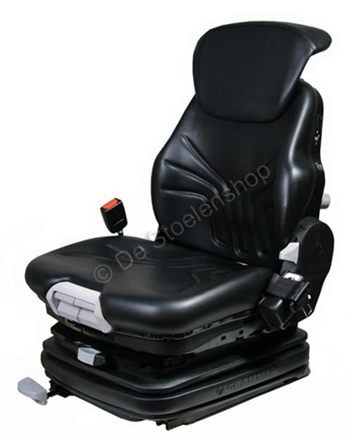 Grammer luchtgeveerde heftruckstoel MSG75G/731 LINDE PVC