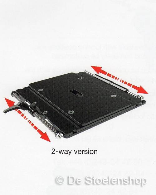 Horizontaalveringsplaat Sittab type LP 18 mm.