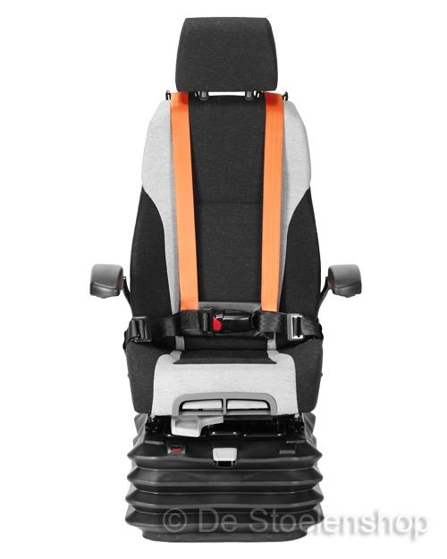 KAB luchtgeveerde stoel 65K4B 24 Volt met 4-puntgordel
