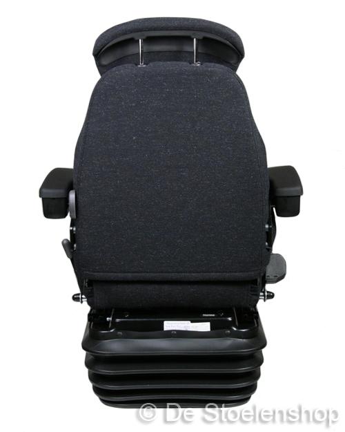 KAB mechanisch geveerde stoel 83/E1  stof storm / antraciet