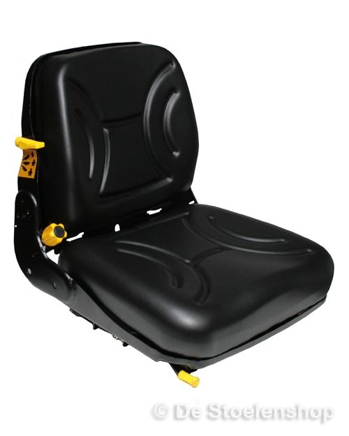 Mechanisch geveerde heftruckstoel STPlus FS12 heavy duty pvc