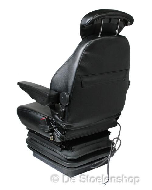 Mechanisch geveerde stoel E85/C1 PVC met opties