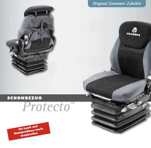 Overtrekhoes Grammer Maximo Evolution  en Dynamic 550 mm.