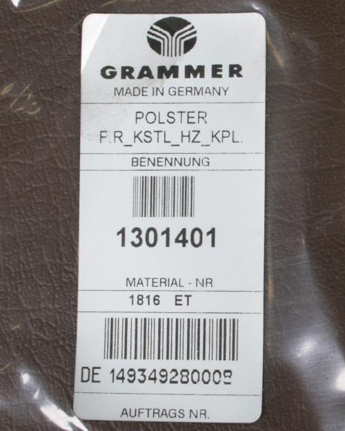 Rugkussen Grammer MSG65/531 en MSG75/531 PVC met verwarming