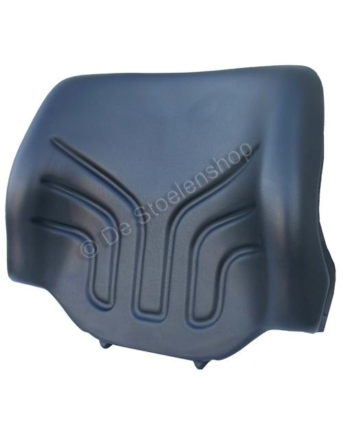 Rugkussen tbv heftruckstoel Grammer MSG12 en MSG20 PVC zwart