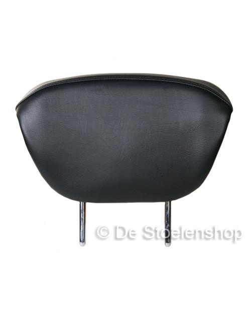 Rugverlenging Maximo PVC zwart / geïntegreerde uitvoering