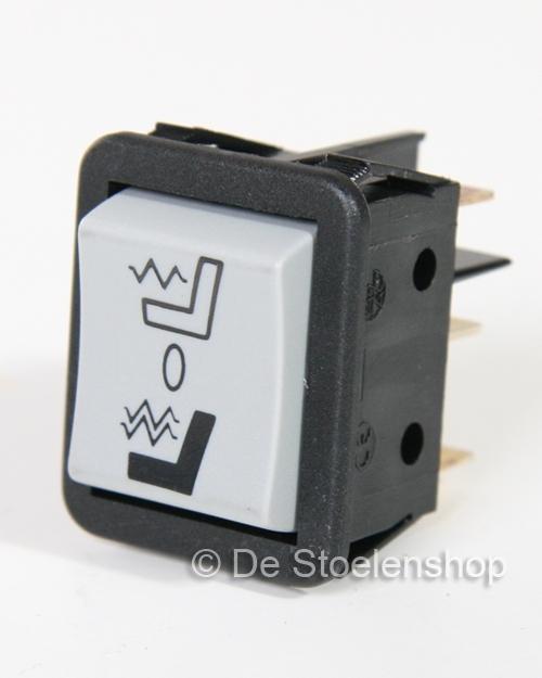 Schakelaar t.b.v. verwarming Grammer MSG90.5 en MSG90.6