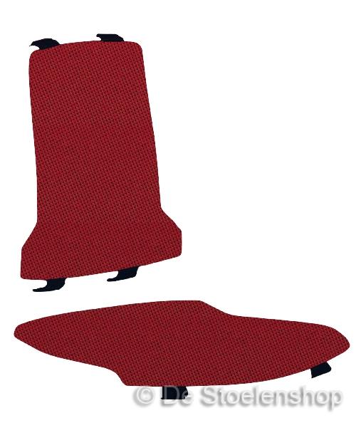 Set Kussens met Lendensteun tbv Bimos ESD Sintec Textiel