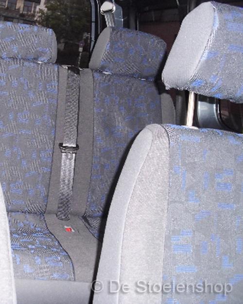 Stoelhoes voor achterbank Grijs/Blauw