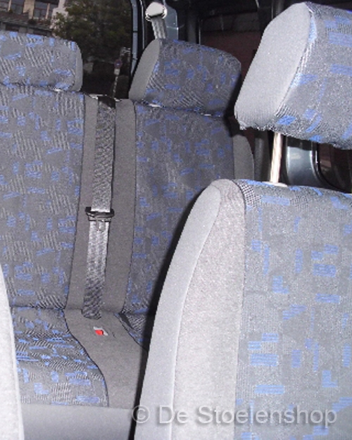Stoelhoes voor bestuurders- of bijrijdersstoel Grijs/Blauw