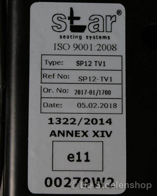 Veersysteem mechanisch geveerd STAR / smalle uitvoering
