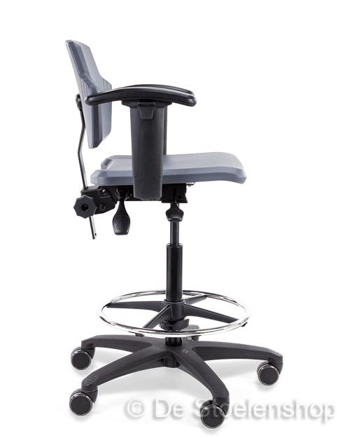 Werkplaatsstoel/ werkstoel hoge uitvoering Score Spirit 1502