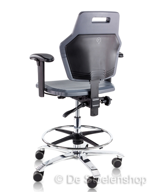 Werkplaatsstoel Score At Work 4401, robuuste werkstoel