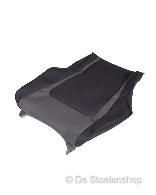 Zithoes voor zitkussen KAB K6 stof grijs/antraciet