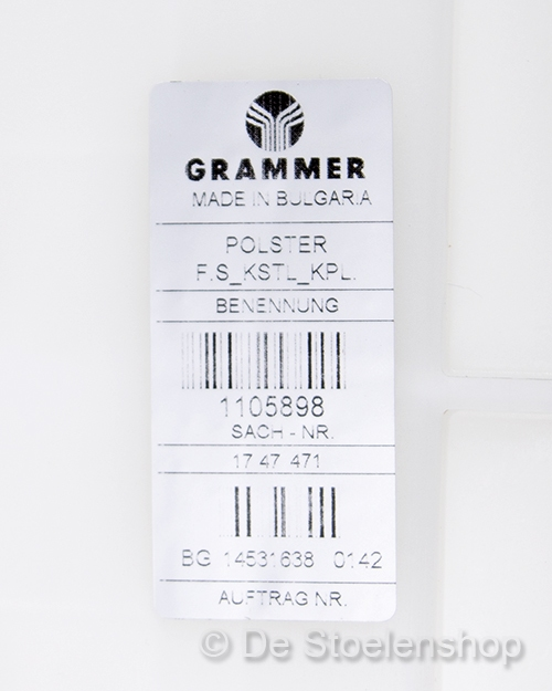Zitkussen origineel Grammer t.b.v. Grammer B12 PVC