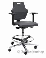Werkplaatsstoel Score At Work 4402, robuuste werkstoel
