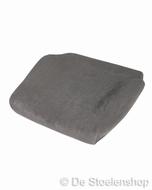 Zitkussen (schuim+hoes) stof grijs t.b.v. BE-GE 7000-9000
