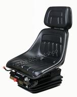 Mechanisch geveerde stoel KAB  XH2/P2 PVC met rugverlenging