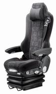 Luchtgeveerde vrachtautostoel Grammer Kingman comfort DAF