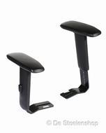 Set armleggers voor bureaustoel, oa passend aan Bimos Y160