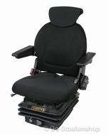 Cobo luchtgeveerde tractorstoel SR840/M97 stof zwart