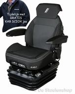 KAB luchtgeveerde tractorstoel SCIOX SUPER met verwarming