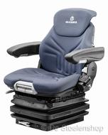 Grammer Maximo XM mechanisch geveerde stoel stof blauw-zwart