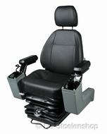 KAB 525P PVC zwart geperforeerd met joystick bakken
