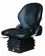 Grammer tractorstoel Compacto Comfort M pvc zwart