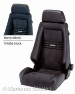Recaro Specialist S autostoel & bestelautostoel stof zwart