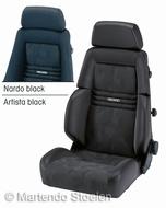Recaro Expert S autostoel & bestelautostoel stof zwart