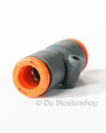 Push-in koppeling voor het verbinden van 8 mm. luchtslang