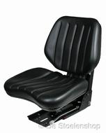 Grammer DS44/1B mechanisch geveerde stoel - PVC zwart