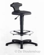 Krukje/zit-stahulp met glijders en voetenring Flex 3 BIMOS