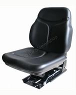 Cobo geveerde smalspoor tractorstoel SC74/M15 PVC zwart