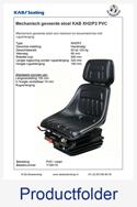 T159110 KAB XH2P2 PVC met rugverlenging