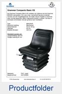 1333859-Grammer-MSG283-8-Compacto-Basic-XS-mechanisch-geveerd