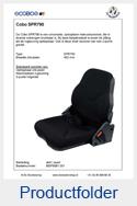 MSP9081051-Cobo-SPR790-opklapbare-bijrijdersstoel
